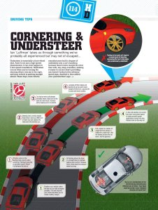 Cornering and Understeer, Motor magazine, November 2009