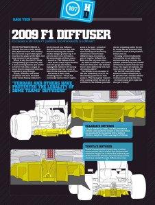 2009 F1 Diffuser, Motor magazine, June 2009